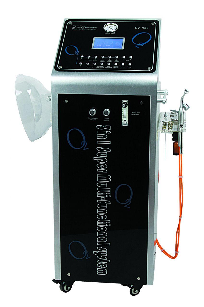 SpaTech Oxigén Terápiás Gép Mikrodermabrázióval és Mezoterápiával