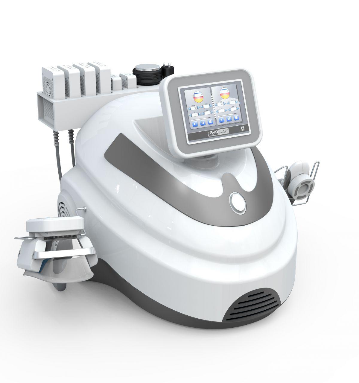 Belize Max 4in1 Alakformáló Gép: Cryolipolízis, DLT lipolézer, vákuumos rádiófrekvencia és kavitáció