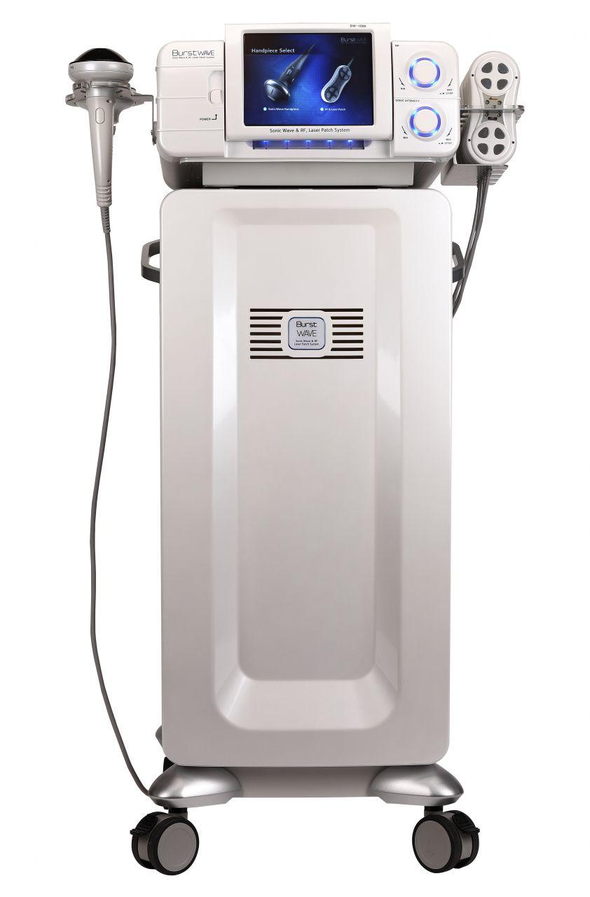 ClinicDerm 3in1 Alakformáló Gép HIFU technológiával, lézerrel és rádiófrekvenciával