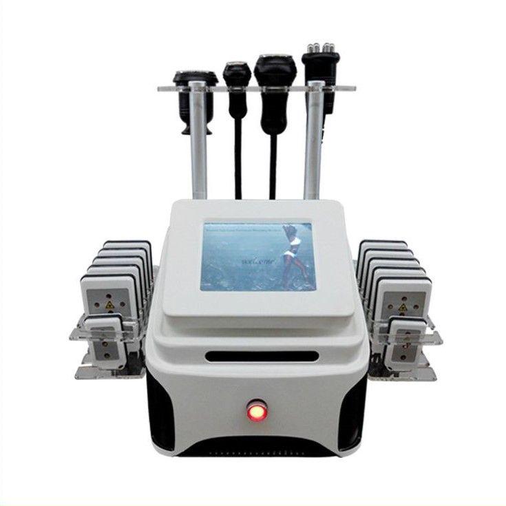 LipoMaster 4in1 Kavitációs, lipolézeres, rádiófrekvenciás, vákuumos alakformáló gép