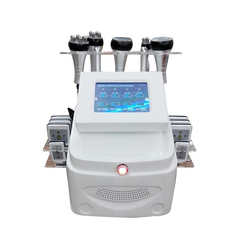 LipoMaster 6in1 Kavitációs, lipolézeres, rádiófrekvenciás, vákuumos alakformáló gép