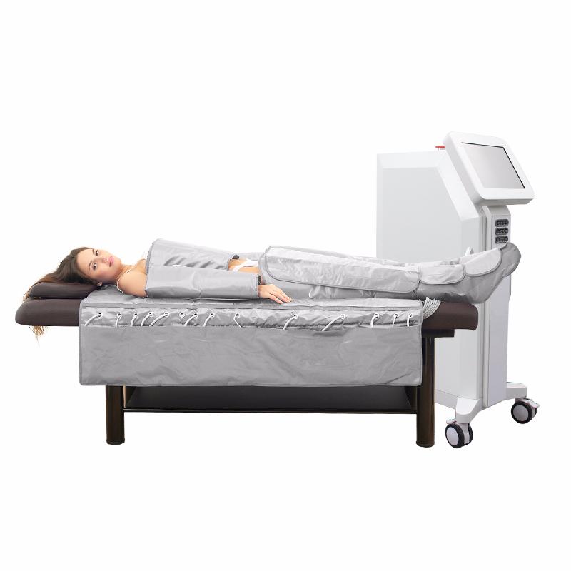 SalonLife Ultra 2in1 Nyomásterápiás Nyirokmasszázs Gép Infrával, érintőképernyővel